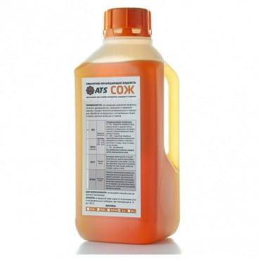 СОЖ AT-S MIX 1 л (смазочно-охлаждающая жидкость, эмульсия, концентрат)