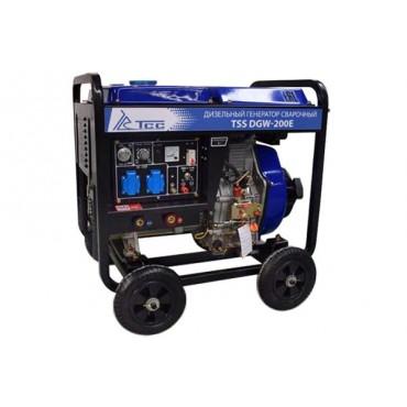 Дизельный сварочный генератор ТСС DGW-200E