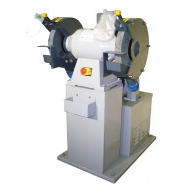 VISPROM BKL-3000 Двухдисковый шлифовальный станок с пылесосом