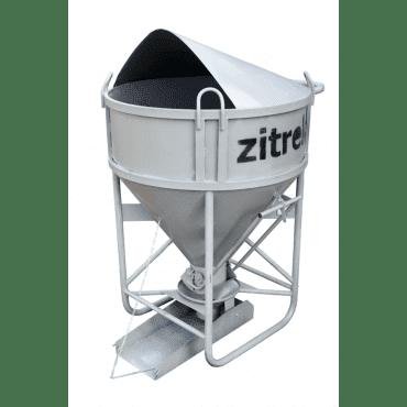Zitrek Бадья для бетона БНПу-1 (воронка, лоток)