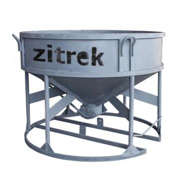 Zitrek Бадья для бетона БН-1.5 (лоток) низкая
