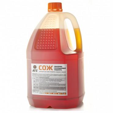 СОЖ AT-S MIX 5 л (смазочно-охлаждающая жидкость, эмульсия, концентрат)