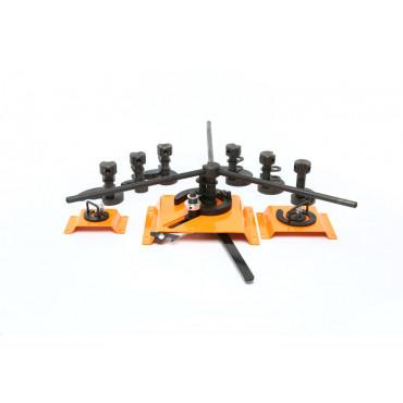 Набор инструментов для гибки завитков Blacksmith M3-V9  (9 шт.)
