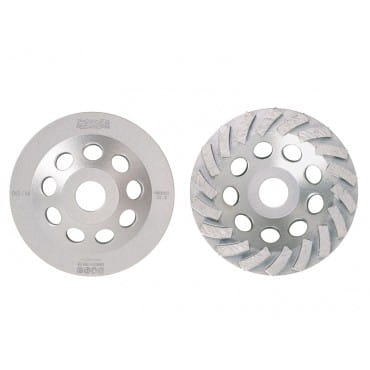 Алмазная чашка Messer Turbo для шлифовки бетона и гранита BG/M, 150D-5,5T-7,8W-22.2