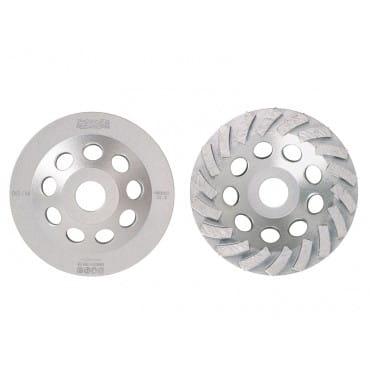 Алмазная чашка Messer Turbo для шлифовки бетона и гранита BG/M, 180D-5.5T-7.8W-22.2