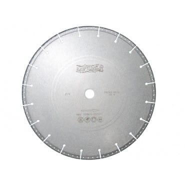 Диск алмазный Messer для резки рельс F/V, сухой, 356D-3.9-10W-25.4 Д.О.