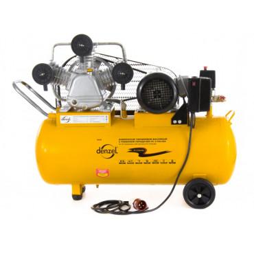 Denzel Компрессор PC 3/100-504 (масляный, ременный, 504 л/м, 3 кВт, 380 Вт)
