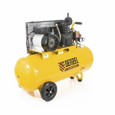 Denzel Компрессор воздушный PC 2/100-400 Х-PRO (ременный, 2.3 кВт, 400 л/мин, 100 л, 10 бар)