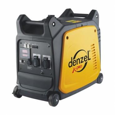 Denzel Генератор инверторный GT-2600i X-PRO (2,6 кВт, 220В, цифровое табло, бак 7 л, ручной старт)