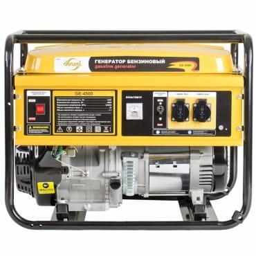 Denzel Генератор бензиновый GE 4500 (4,5 кВт, 220В/50Гц, 25 л, ручной старт)