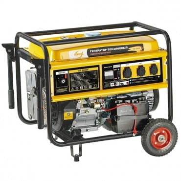 Denzel Генератор бензиновый GE 8900E (8,5 кВт, 220В/50Гц, 25 л, электростартер)
