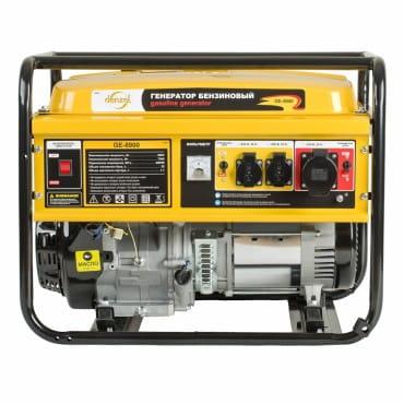 Denzel Генератор бензиновый GE 8900 (8,5 кВт, 220В/50Гц, 25 л, ручной старт)