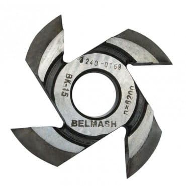 БЕЛМАШ Фреза радиусная для фрезерования полуштапов (правая) 125х32х17 мм