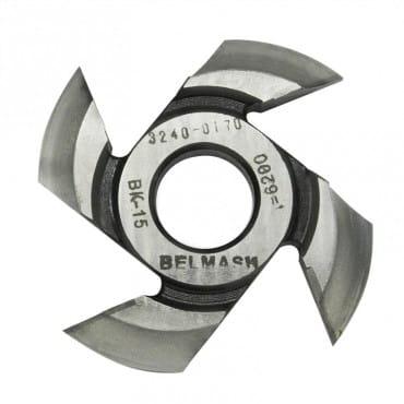 БЕЛМАШ Фреза радиусная для фрезерования полуштапов (правая) 125х32х19 мм