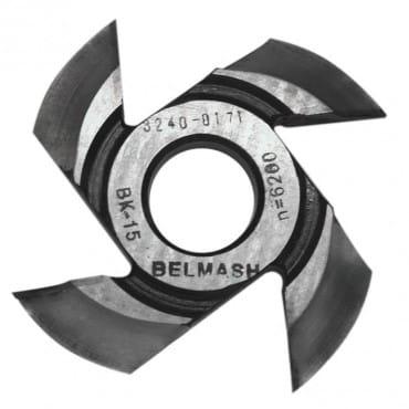 БЕЛМАШ Фреза радиусная для фрезерования полуштапов (правая) 125х32х21 мм