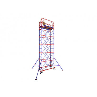 Zitrek Вышка-тура МЕГА-2 Н=17,2м (13 секций, со стабилизаторами)