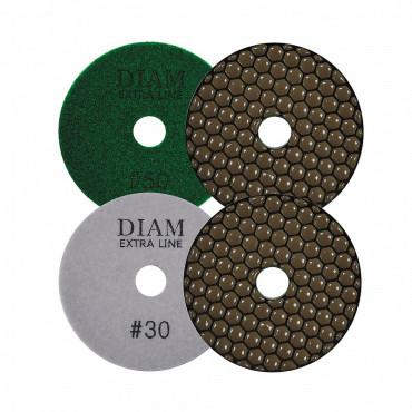 Алмазный гибкий шлифовальный круг DIAM ExtraLine Dry(сухая) 100*2,0 №200