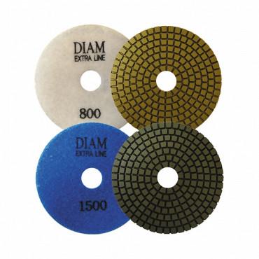 Алмазный гибкий шлифовальный круг Diam ExtraLine Wet(мокрая) 100*3,0 №400