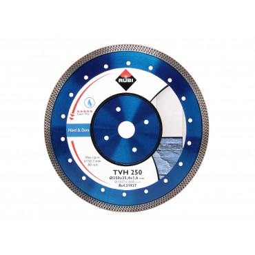 Алмазный диск для твёрдых материалов RUBI TURBO VIPER TVH 350 SUPERPRO