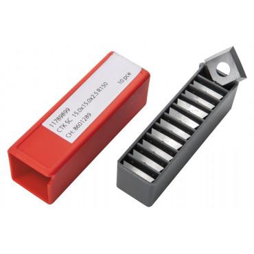 Комплект ножей JET HM 15,0x15,0x2,5мм R150 CTOPP10 для вала helical (10 шт.)