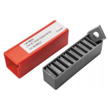 Комплект ножей JET HM 15,0x15,0x2,5мм R150 KCR18+ для вала helical (10 шт.)