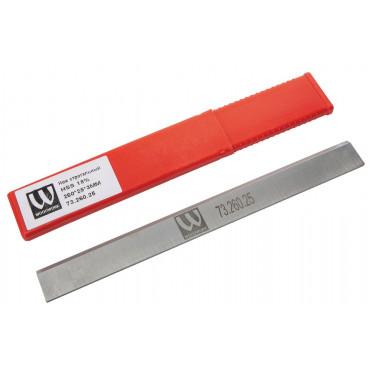 Нож строгальный JET HSS 18% 260X25X3мм (1шт) для JPT-260