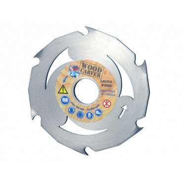 Диск MONTOLIT WOOD CARVER 115х22,2 мм