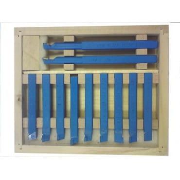 Комплект резцов TRIOD 119005 10х10 с державкой 11 шт