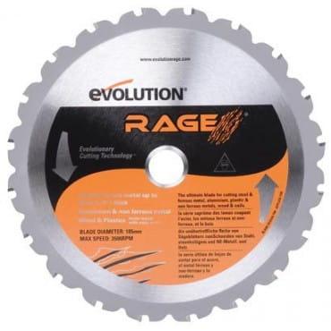 Evolution RAGEBLADE255MULTI Диск универсальный 255х25,4х2,0 Z=28