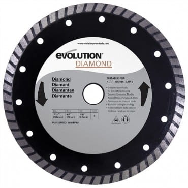 Evolution RAGEBLADE210DIAMOND Диск алмазный 210х25,4х2,5