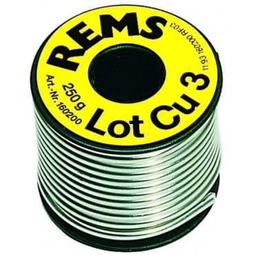 Припой медь REMS № 3 ( 3мм, 250г )