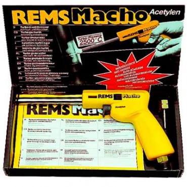 REMS 161010 Газовая паяльная горелка Махо (ацетилен)