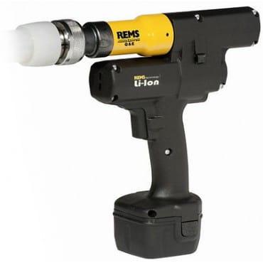 REMS 575015 Аккумуляторный расширитель труб Akku-Ex-Press Q&E Li-Ion