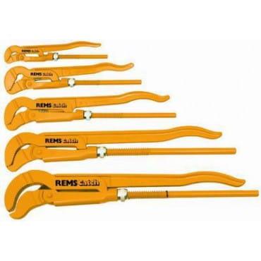"""Газовый ключ с S - образными губками REMS Кэтч S 1"""""""