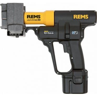 Аккумуляторный аксиальный пресс REMS Акс-Пресс 40 li-Ion Сет LR 20-22-25