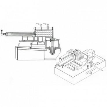 Прижим пакетной резки для ленточнопильного станка BS-1018B Stalex AP-BS-1018B