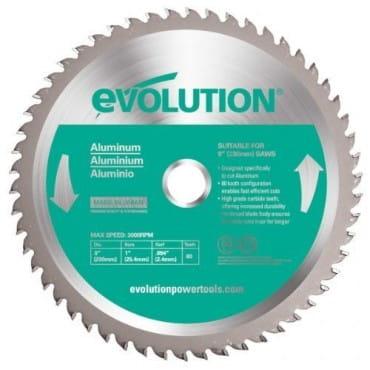 Диск по алюминию EVOLUTION 80TBLADE 355х2,4х25,4х80