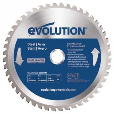 EVOLUTION EVOBLADE230WD 230х25,4х2,4х40 Диск по древесине