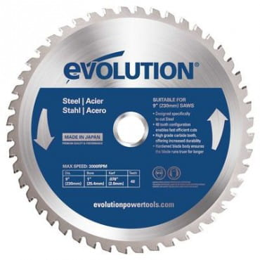 Диск по древесине EVOLUTION EVOBLADE230WD 230х25,4х2,4х40