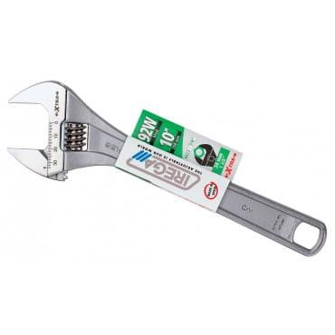 """IREGA NO.92W/CE - 10"""" (EXTRA) Разводной ключ (трехслойное хромирование)"""