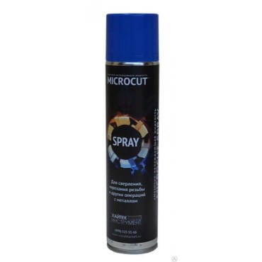 Смазывающе-охлаждающая жидкость в аэрозольной упаковке MICROCUT® SPRAY