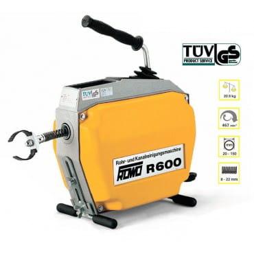 Lehmann ROWO R600 Электрическая прочистная машина для канализации