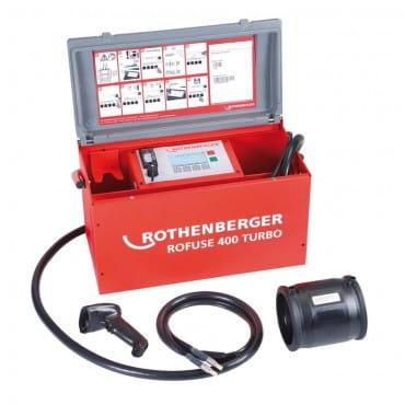 Аппарат для сварки полимерных труб Rothenberger ROWELD ROFUSE 400 TURBO