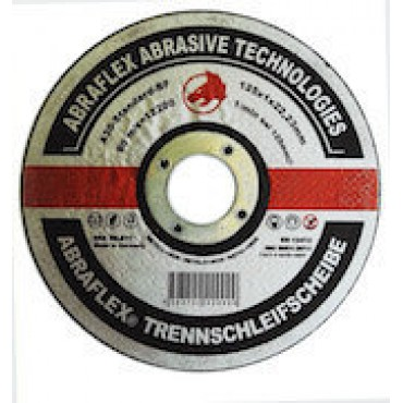 Abraflex Отрезной круг А-30 Standard BF (металл+нерж.) 125х1,0х22,23, 25 шт./упак.