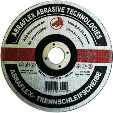 Abraflex Отрезной круг А-30 Standard BF (металл) 125х2,5х22,23, 25 шт./упак.