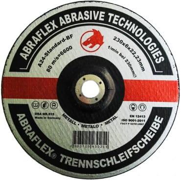 Abraflex Зачистной круг А-24 Standard BF (металл) 230х6х22,23, 10 шт./упак.