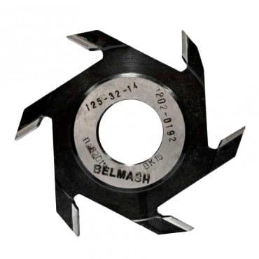 Фреза пазовая БЕЛМАШ 125х32х14 мм