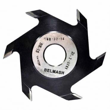 БЕЛМАШ Фреза пазовая 160х32х14 мм