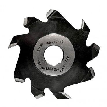 Фреза пазовая с подрезающими зубьями БЕЛМАШ 160х32х10 мм