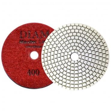 Круг алмазный шлифовальный гибкий DIAM MasterLine Universal зерно 400 для мокрой и сухой шлифовки